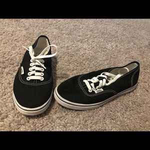 Black & White Authentic Vans